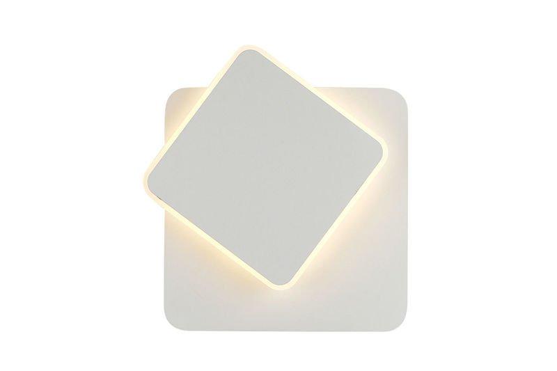 Kinkiet Lampa Ścienna LED Ruchoma Kwadratowa - SEPMAG