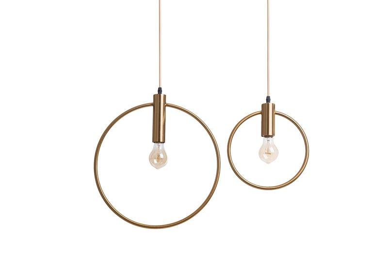 Pendant Lamp Gold Ring - BOLTON 250