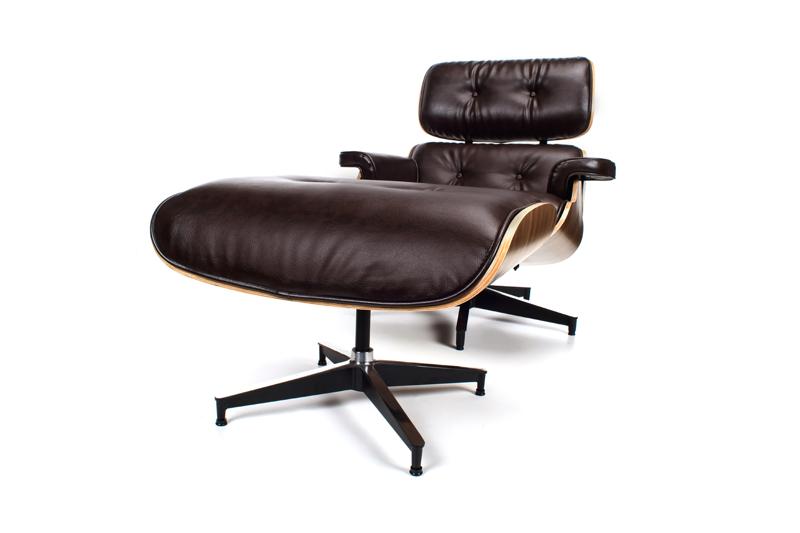 Fotel Z Podnóżkiem PLAGEN V.1 Skóra Ekologiczna