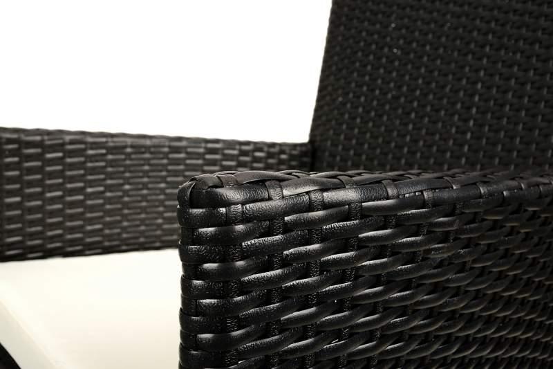 Komplet Mebli SAZOS Z Technorattanu 2 Fotele + Stolik