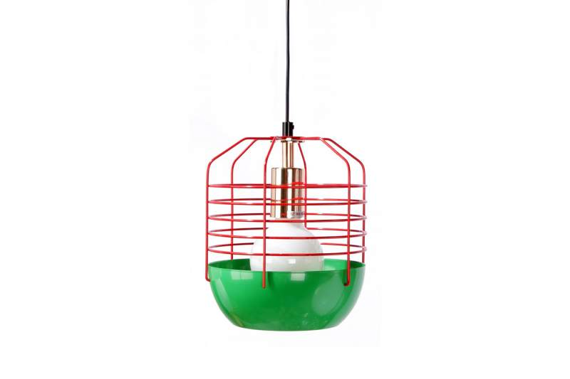 Lampa ATLANTEX 200 Zielono-Czerwona
