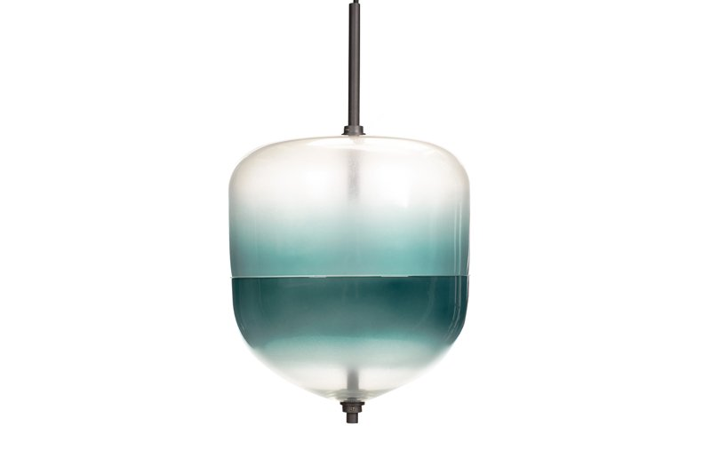 Lampa Wisząca MANSET 250 Niebieska